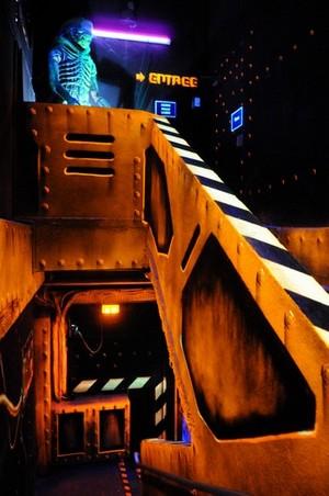 accueil du laser game intérieur kip