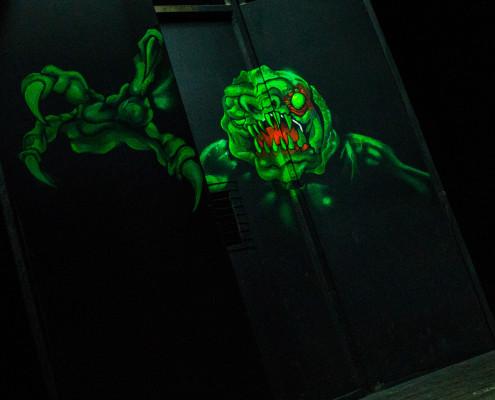 kip monstre vert