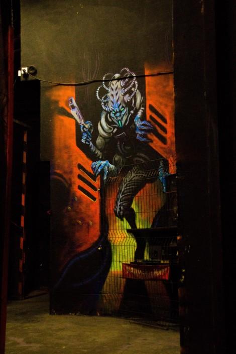 kip ambiance laser game