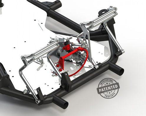 Système Anti gaz frein karting