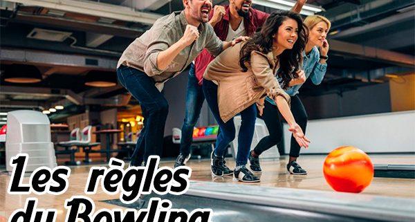les règles du bowling