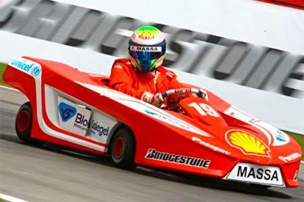 Felipe Massa en Karting