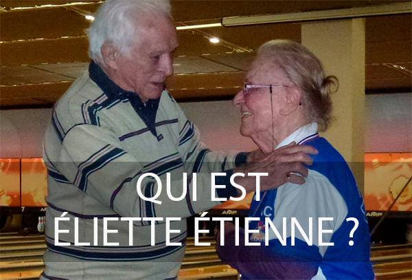 Eliette Etienne bowling