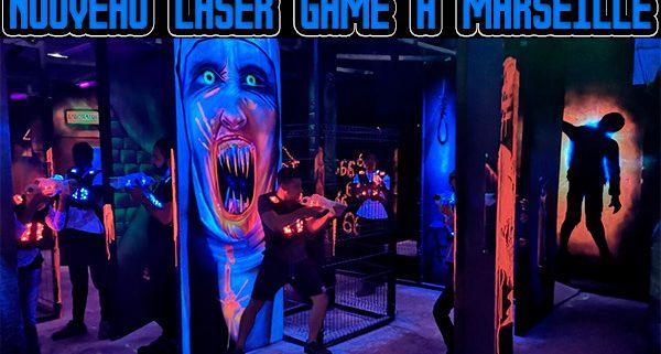 Nouveau Laser Game à Marseille