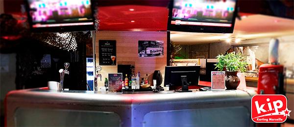 comptoir de bieres chez KIP
