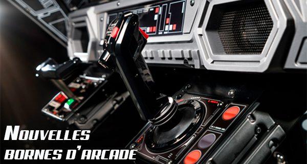 Nouvelles bornes de jeu d'arcade chez KIP Marseille