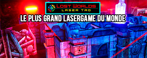 Lost World Laser Game